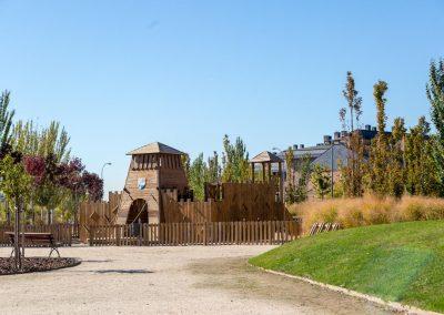Parque lineal Juan Carlos I 01